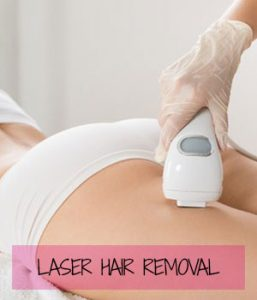 laser hair removal at Sparx Beauty Salon, Winchester