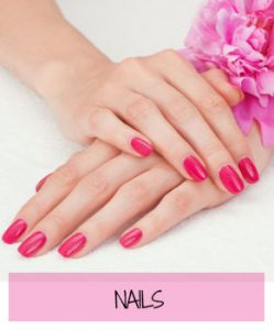 nails at Sparx Beauty Salon, Winchester