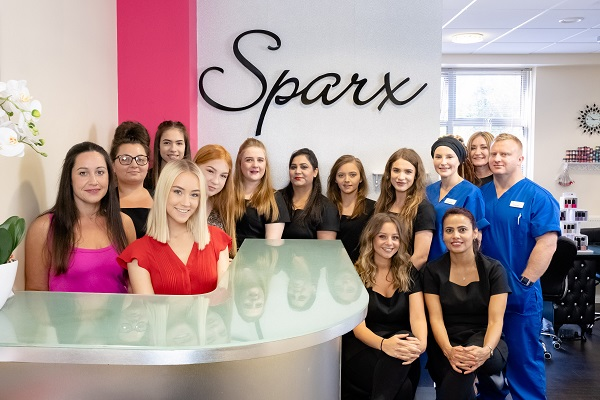 Sparx are Finalists at the Professional Beauty Awards 2020