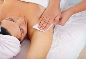 Waxing services at Sparx beauty salon in Winchester