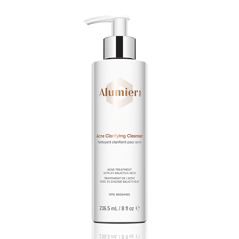 Acne Clarifying Cleanser at Sparx beauty salon in Winchester