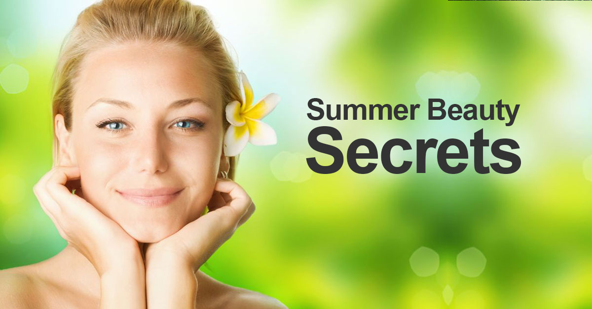 Summer-Beauty-Secrets at Sparx beauty salon in Winchester