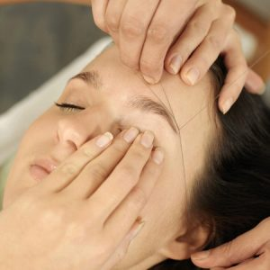 Hair Removal Using Threading