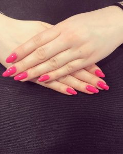 PASTEL PINK NAILS, Sparx Beauty Salon in Winchester