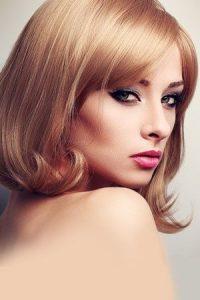 retro prom style makeup Salon Winchester