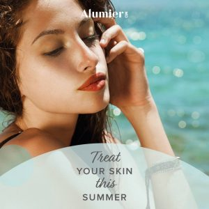 Alumier MD summer skin care at Sparx Beauty Salon in Winchester