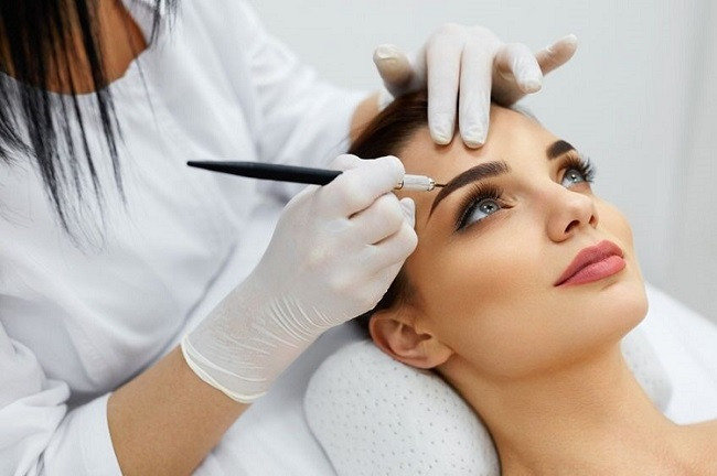 semi permanent make up services at Sparx Salon Winchester