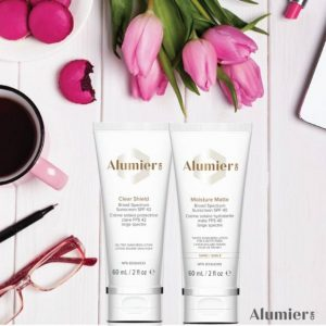AlumierMD Professional skin care products at Sparx top Winchester Beauty Salons