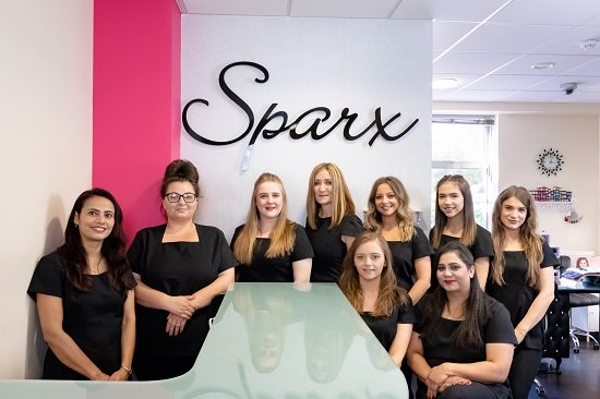 Welcome to Sparx Beauty Salon in Winchester