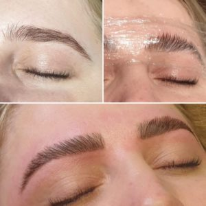 Brow Lamination at Sparx Winchester Beauty Salon