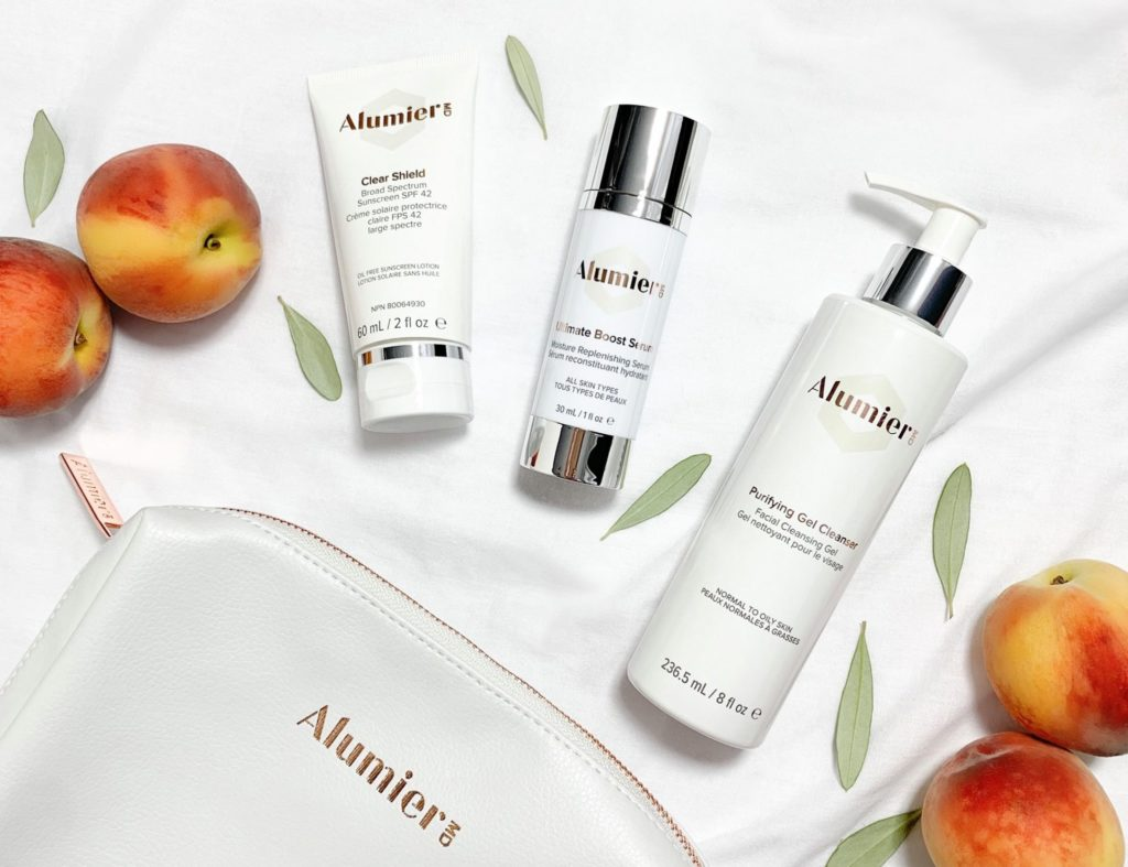 Alumier skin care home delivery Sparx Winchester