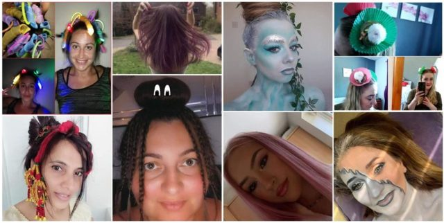 Sparx Hair Challenge Collage