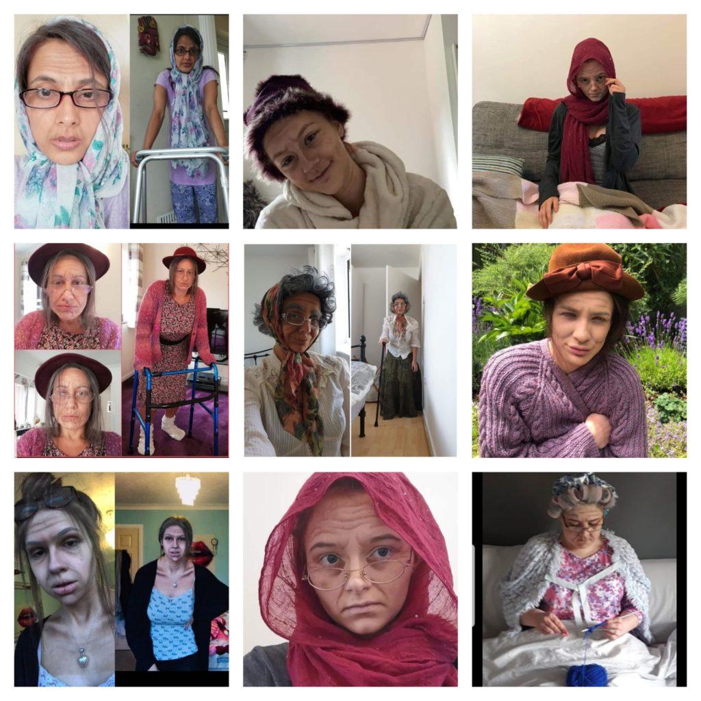 Granny Collage