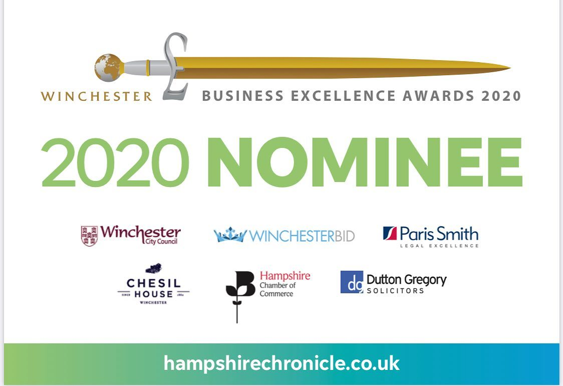 Sparx Nominated in Winchester Business Excellence Awards