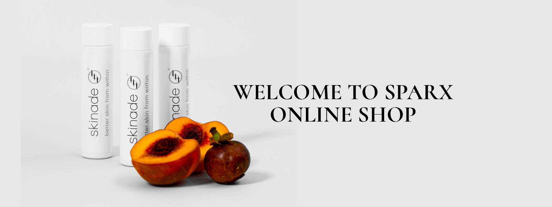 Welcome to Sparx Online Shop banner
