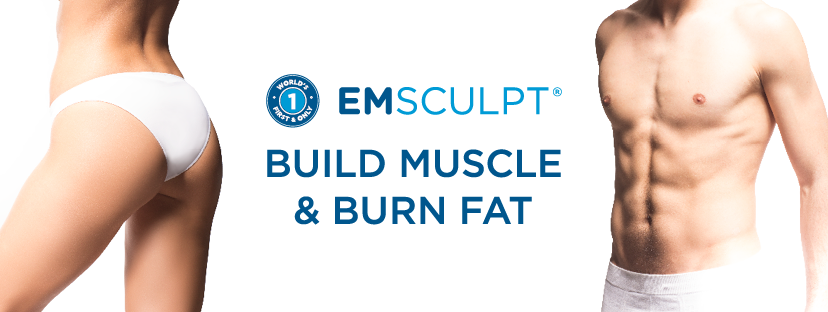 Build Muscle Burn Fat with Emsculpt at Sparx Aesthetics Clinic in Winchester