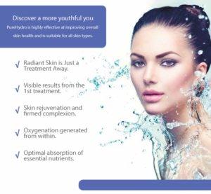 Anti Aging Pure Hydro Facial Sparx Winchester Beauty Salon