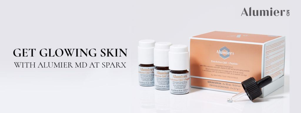 get glowing skin With Alumier MD at Sparx Winchester Skin Clinic